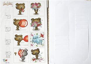 STORYTELLERS - LITTLE TED - PAPER FUN WATERFALL CARD KIT