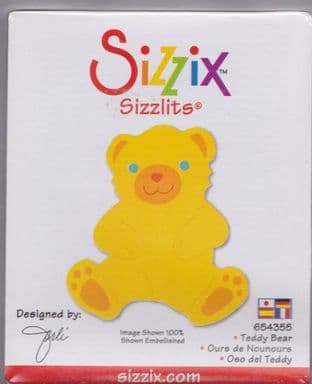 TEDDY SIZZIX SIZZLITS SINGLE DIE