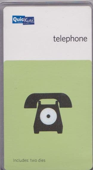 TELEPHONE  QUICKUTZ DOUBLEKUTZ DIE KS-0663