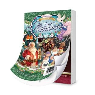 The 6th Little Book of Christmas 144 Pages A6 Hunkydory Card Toppers