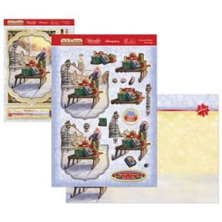 The Joy of Christmas Hunkydory Deco-Large - A Special Delivery Decoupage Kit