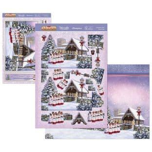 The Joy of Christmas Hunkydory Deco-Large - Christmas Choir Decoupage Kit
