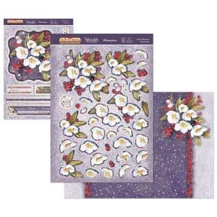 The Joy of Christmas Hunkydory Deco-Large - Winter Blossoms Decoupage Kit