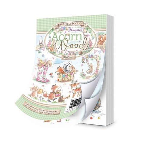 The Little Book of Acorn Wood 144 Pages A6 Hunkydory Card Toppers