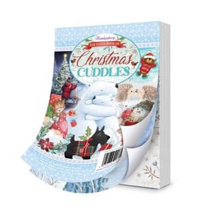 The Little Book of Christmas Cuddles 144 Pages A6 Hunkydory Card Toppers