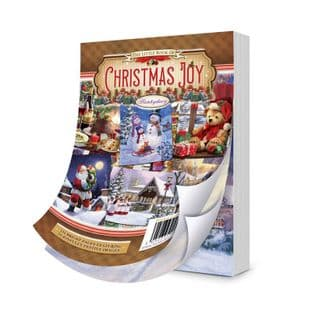 The Little Book of Christmas Joy 144 Pages A6 Hunkydory Card Toppers