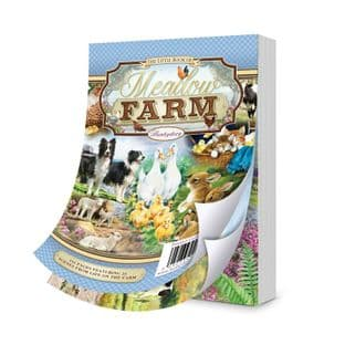 The Little Book of Meadow Farm 144 Pages A6 Hunkydory Card Toppers