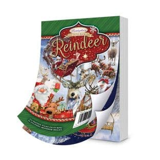 The Little Book of Reindeer 144 Pages A6 Hunkydory Card Toppers