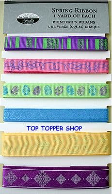 THE PAPER COMPANY - SPRING - RIBBON 6 yards