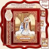 Traditional Christmas Card Kit Downloads