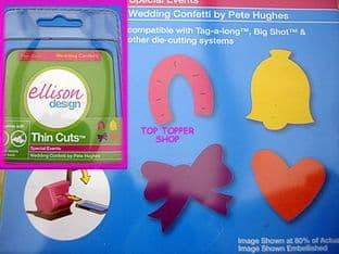 WEDDING CONFETTI ELLISON THIN CUTS DIE
