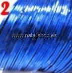 Cinta fina decoración color 02 - azul