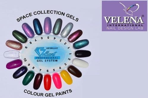 Gelliant colour gel palette space collection