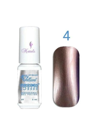 Gelliant Mirror Chrome Polish nº 004 Shining Brown de 9 ml.