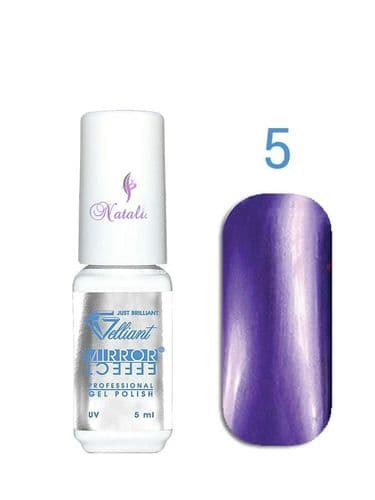 Gelliant Mirror Chrome Polish nº 005 Rich Violet de 9 ml.
