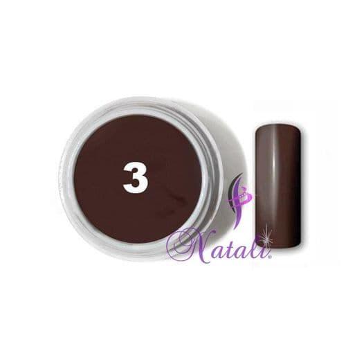 Gelliant UV/LED Color gel nº 03 Hot Chocolate de 5 ml.
