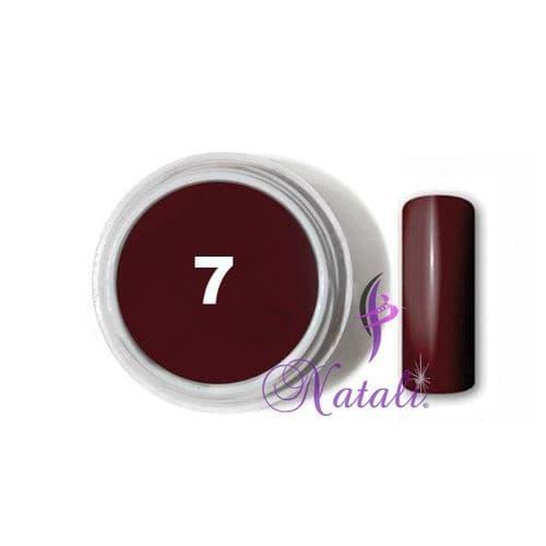 Gelliant UV/LED Color gel nº 07 Burgundy Wine de 5 ml.