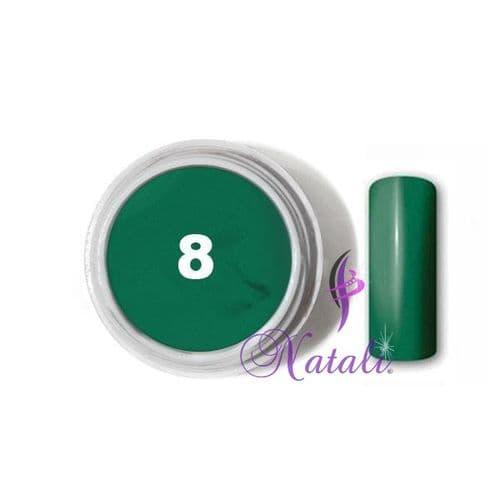 Gelliant UV/LED Color gel nº 08 Juicy Green de 5 ml.
