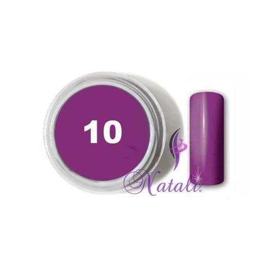 Gelliant UV/LED Color gel nº 10 Night Violet de 5 ml.