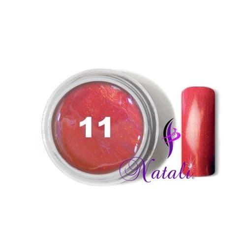 Gelliant UV/LED Metallic Col. Color nº 11 Strawberry de 5 ml.