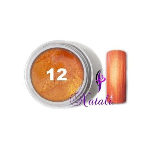 Gelliant UV/LED Metallic Col. Color nº 12 Golden de 5 ml.