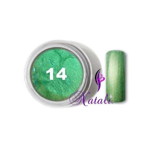 Gelliant UV/LED Metallic Col. Color nº 14 Mint de 5 ml.