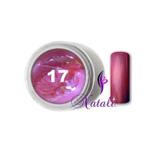 Gelliant UV/LED Metallic Col. Color nº 17 Pink de 5 ml.