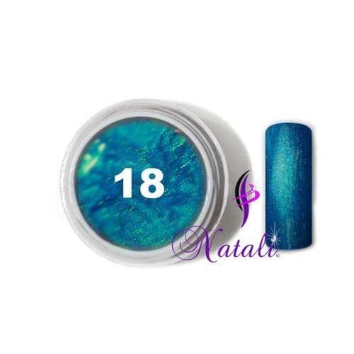 Gelliant UV/LED Metallic Col. Color nº 18 Shapphire de 5 ml.