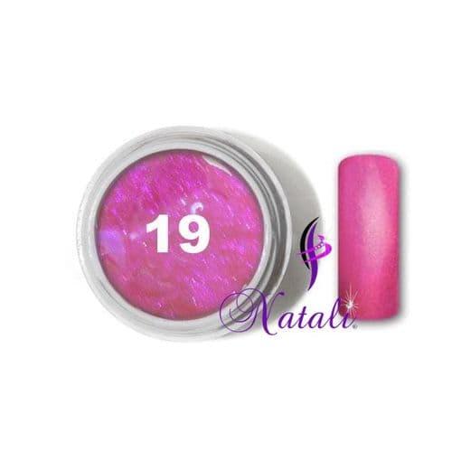 Gelliant UV/LED Metallic Col. Color nº 19 Neon Pink de 5 ml.