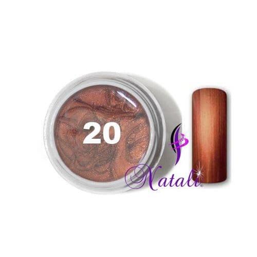 Gelliant UV/LED Metallic Col. Color nº 20 Capucciono de 5 ml.