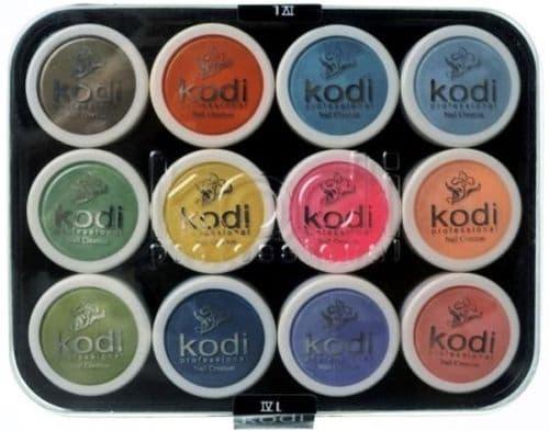 KODI L-4 KIT Colour acryl powder 12 pcs (37-48)