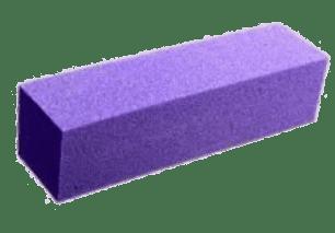 Taco de pulir color morado