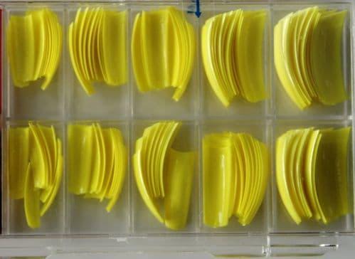 TIPS de color amarillo (100 unidades)