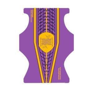 VELENA Universal forms violet+yellow+black de 100 un
