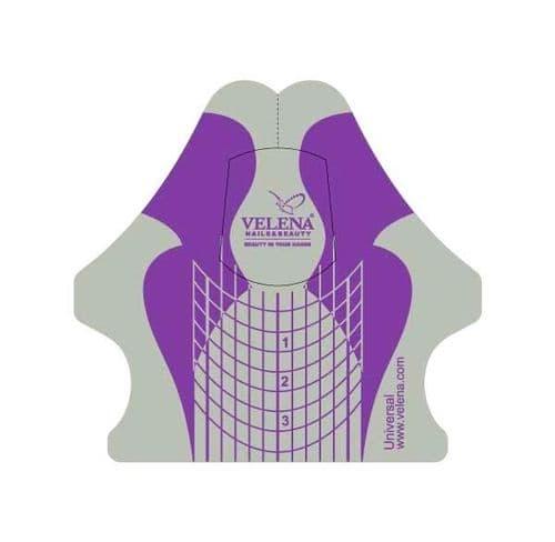 VELENA Universal forms violet+silver de 300 un.