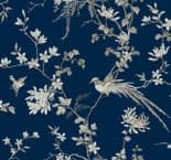 24 Karat WallpaperKT2171 Bird And Blossom Chinoiserie By Ronald Redding For Dixons Exclusive