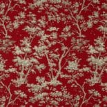 Fontainebleau Fabric Arbre Reina Lin FONT81758101 or FONT 8175 81 01 By Casadeco