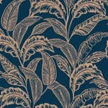 Accessorize Wallpaper Mozambique Ink Blue Rose Gold 275116 By Accessorize London