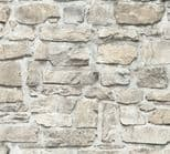 Elements Stone Brick Wallpaper 36370-2 By A S Creation
