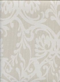 Frozen Fusion Ornamental Flower Wallpaper 82054 By Hooked On Walls For Today Interiors