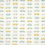 Happy Dreams Fabric All Over Vintage Cars HPDM 8324 63 15 HPDM83246315 By Casadeco