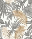 Jungle Fever Wallpaper Wild Palms JF3601 By Grandeco Life