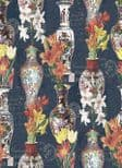 Kyoto Imari Blue Silver Wallpaper 98610 By Holden