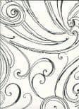 Paper & Ink Black & White Wallpaper BW23100 By Wallquest Ecochic For Today Interiors