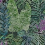 Passenger Wallpaper Mural TPD21296 Amazonas Purple/Green By DecoPrint For Galerie