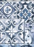 Reclaimed Industrial Chic Wallpaper Marrakesh Tiles 2701-22316 By A Street Prints For Brewster Fine Decor