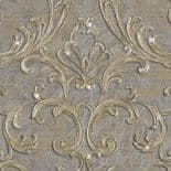 Roberto Cavalli Home No.3 Decorative Wall Panel Damasco Standard RC14114 By Emiliana For Colemans