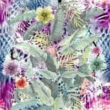 Roberto Cavalli Home No.3 Decorative Wall Panel TropicaleB RC16217 By Emiliana For Colemans