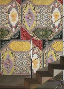 Roberto Cavalli Home Wallpaper Decoration Panel RC12076 Foulard By Colemans