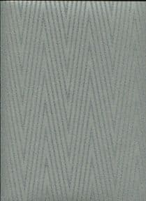 Sloane SketchTwenty3 Wallpaper Chevron Silver/Black SL00835 By Tim Wilman For Blendworth
